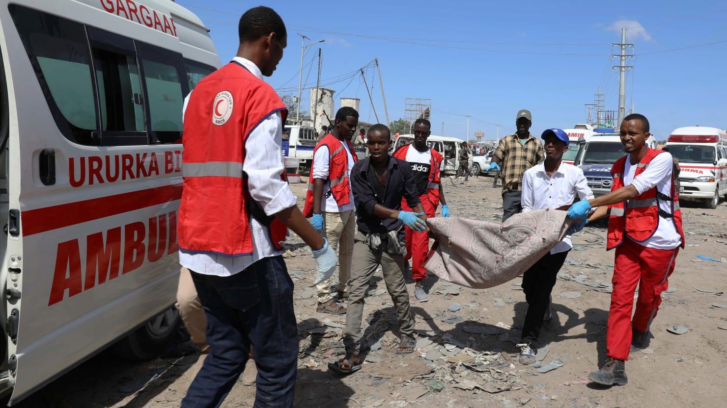 At least 73 Dead in Truck Bombing at Busy Market in Mogadishu, Somalia
