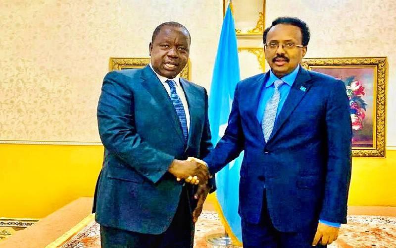Uhuru sends CS Matiang'i to Ethiopia over Somalia border standoff