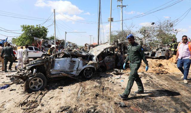 Somalia car bombing: 'Heinous act of terror' leaves at least 79 dead