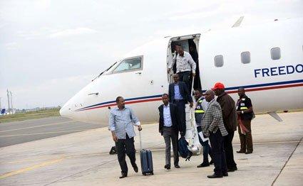 Somali Kenyan MPs who travelled to Somalia released