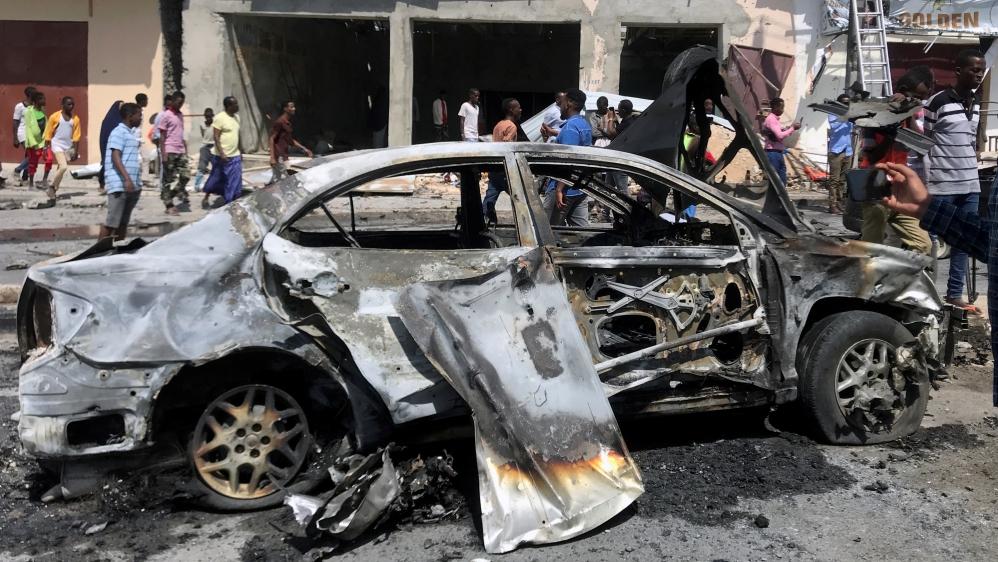 Several killed in car bomb attack near Somali parliament