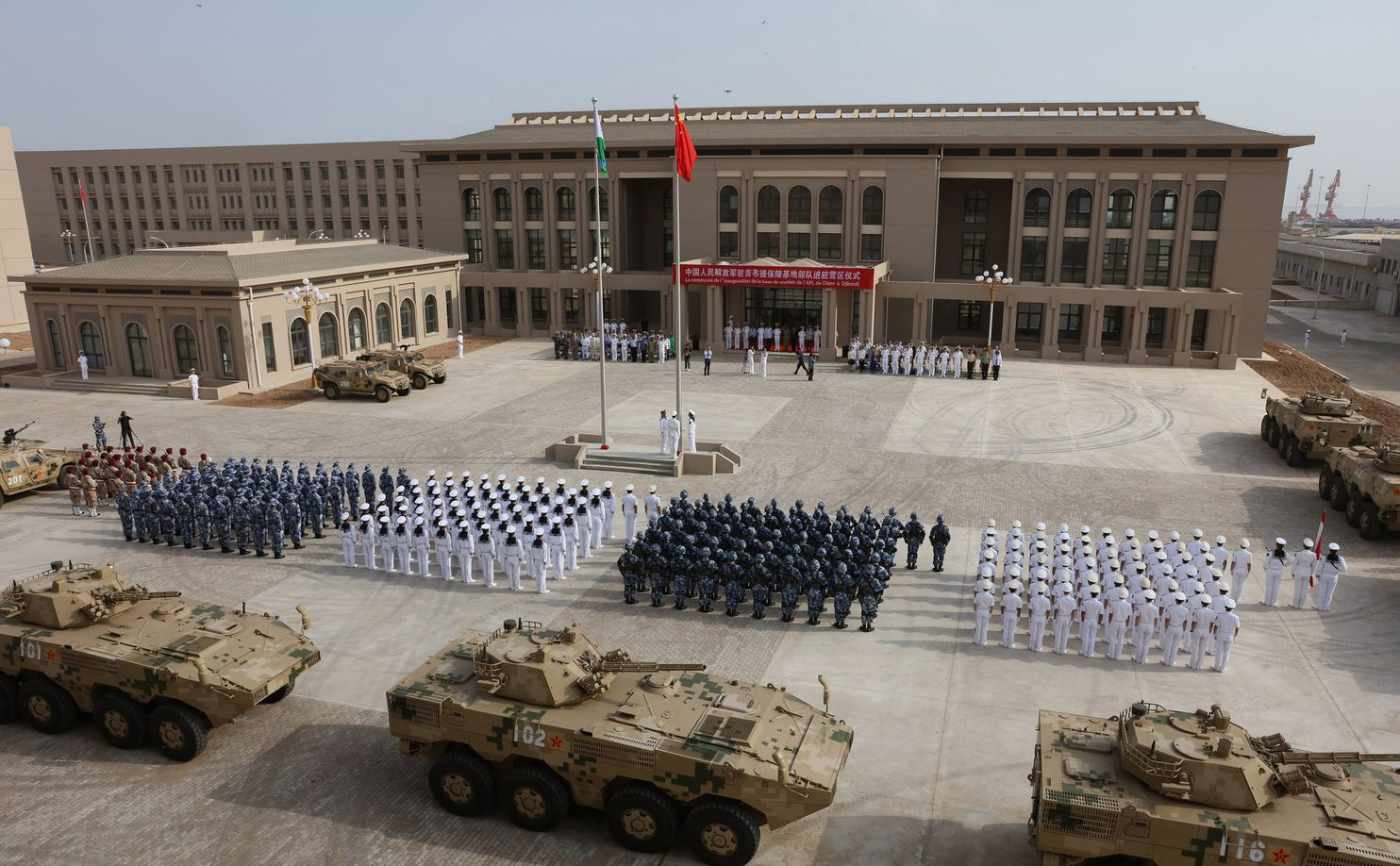 In strategic Djibouti, a microcosm of China's growing foothold in Africa