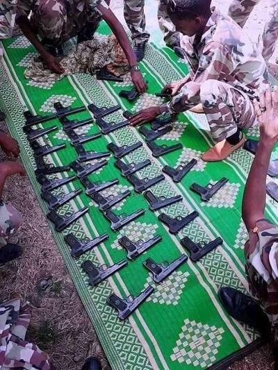 Ethiopia : Somali region special force seized illegal firearms