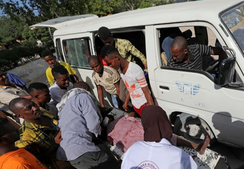Several passengers killed in huge roadside blast in Somalia