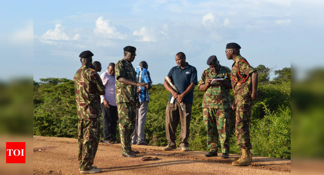 Islamist group al Shabaab attacks Kenya base also used by US forces - Times of India