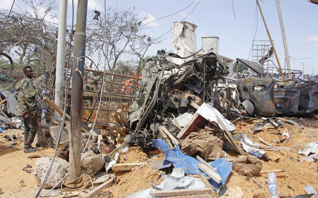 At least 76 killed by truck bomb in Somalia's capital
