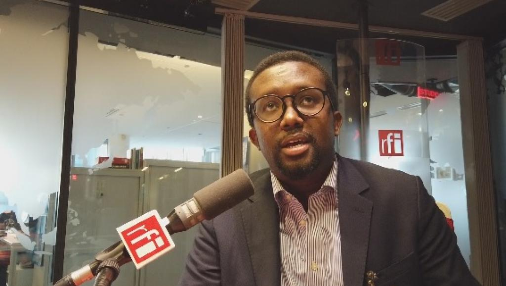 Omar Faruk Osman Nur, head of the National Union of Somali Journalists in Paris, 23 January 2020 Rfi / Anne-Marie Bissada