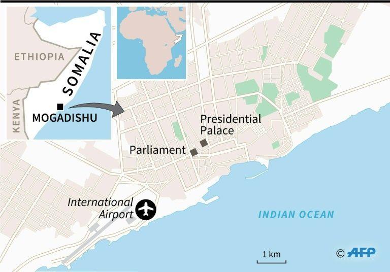 Suspected car bomb explodes near Somalia parliament