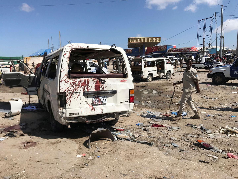 Massive explosion in Somalia's capital kills at least 76