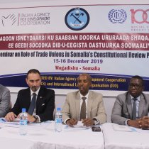 Somalia: FESTU holds national seminar on the Role of Trade Unions in Somalia's Constitutional Review Proces