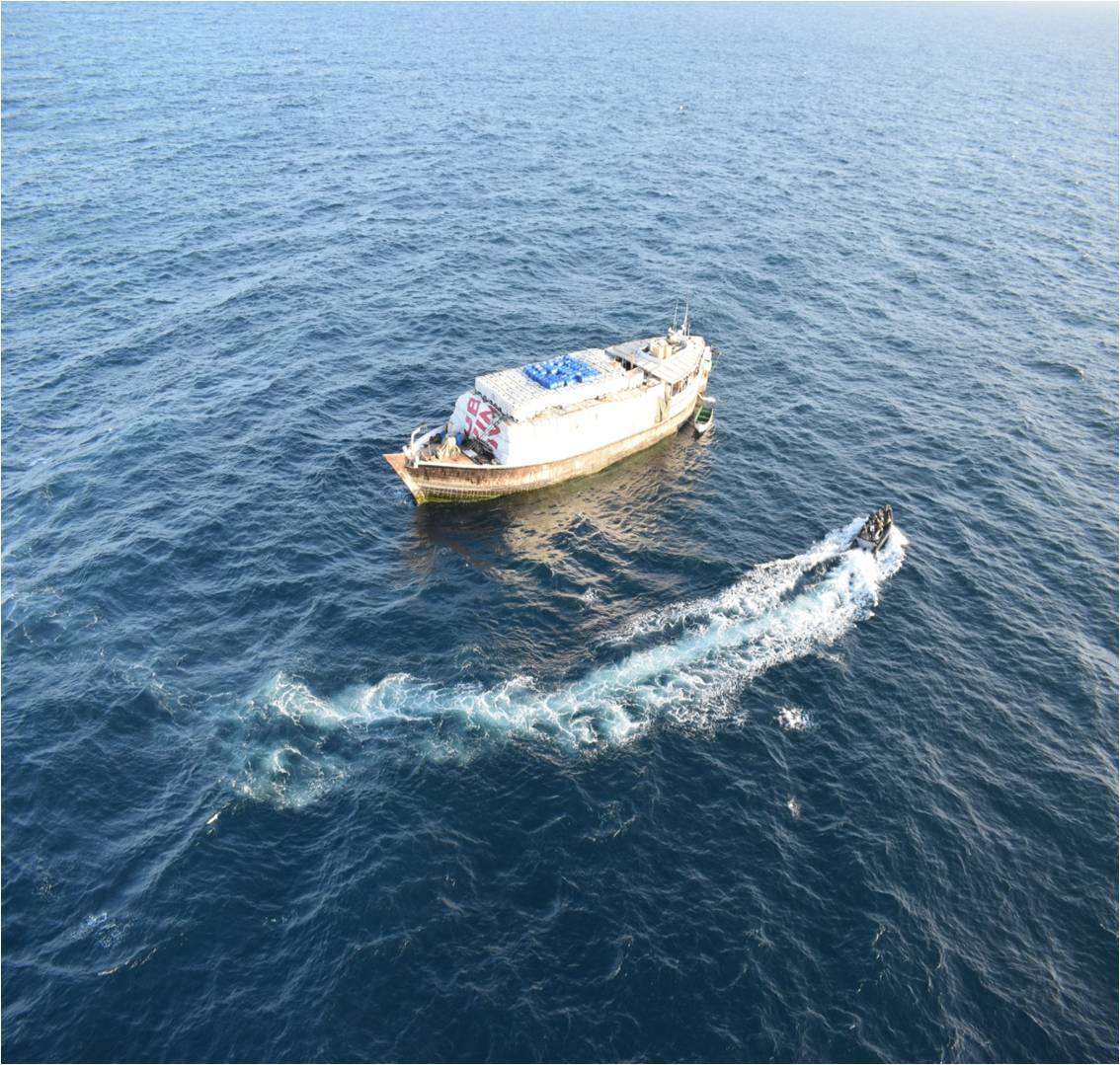 Indian Navy rescues vessel with 13 Indians off Somalia