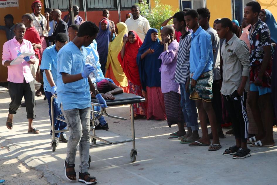 Somalia suicide car bomb attack rocks capital, leaving at least 78 dead
