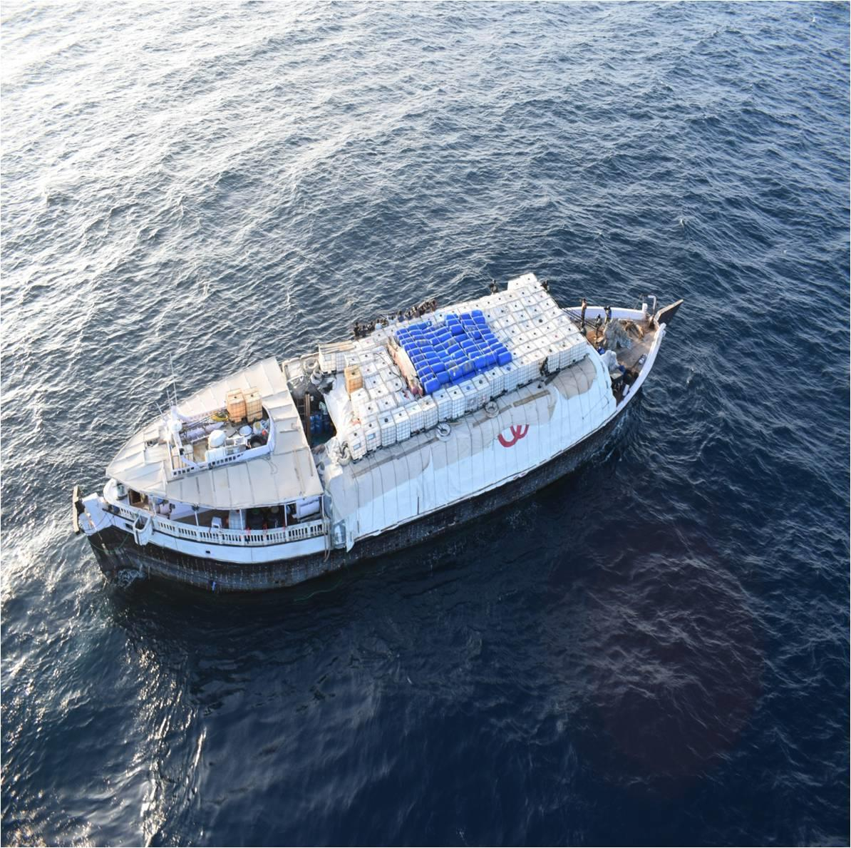 INS Sumedha comes to rescue of stranded vessel with 13 Indian crew on it near Somali coast