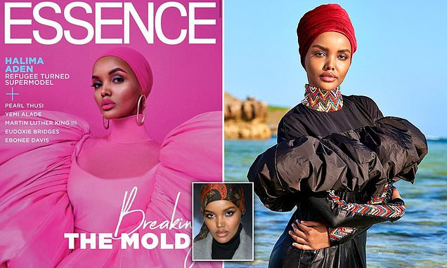 Halima Aden is first black woman on cover of Essence magazine in hijab