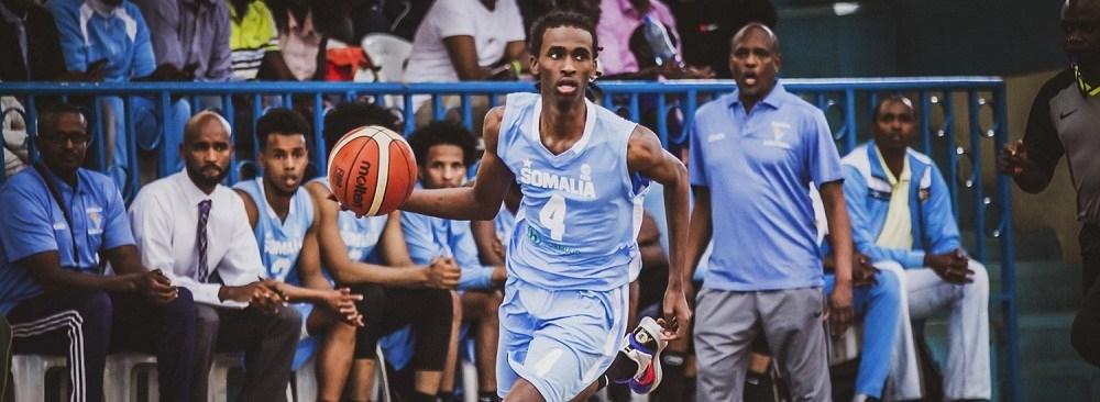 Somalia youth preaching peace through basketball