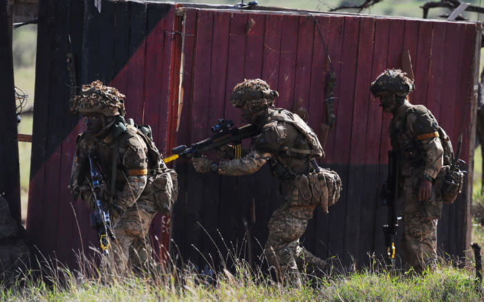 Kenyan police arrest 3 for trying to breach British army camp