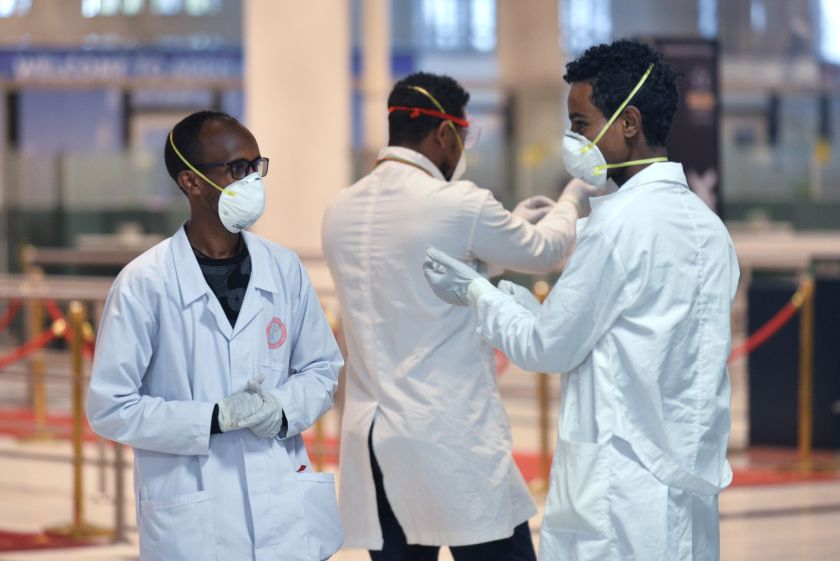 As the coronavirus cases grow, Ethiopian health workers feel abandoned
