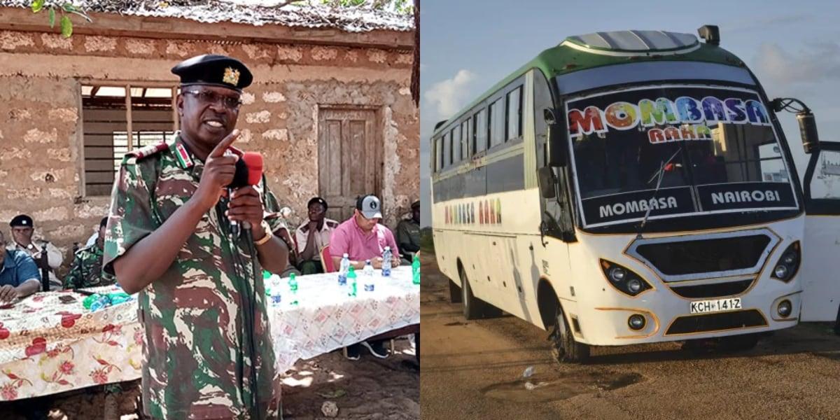 KDF kills 4 suspected al-Shabaab militants after Lamu bus attack