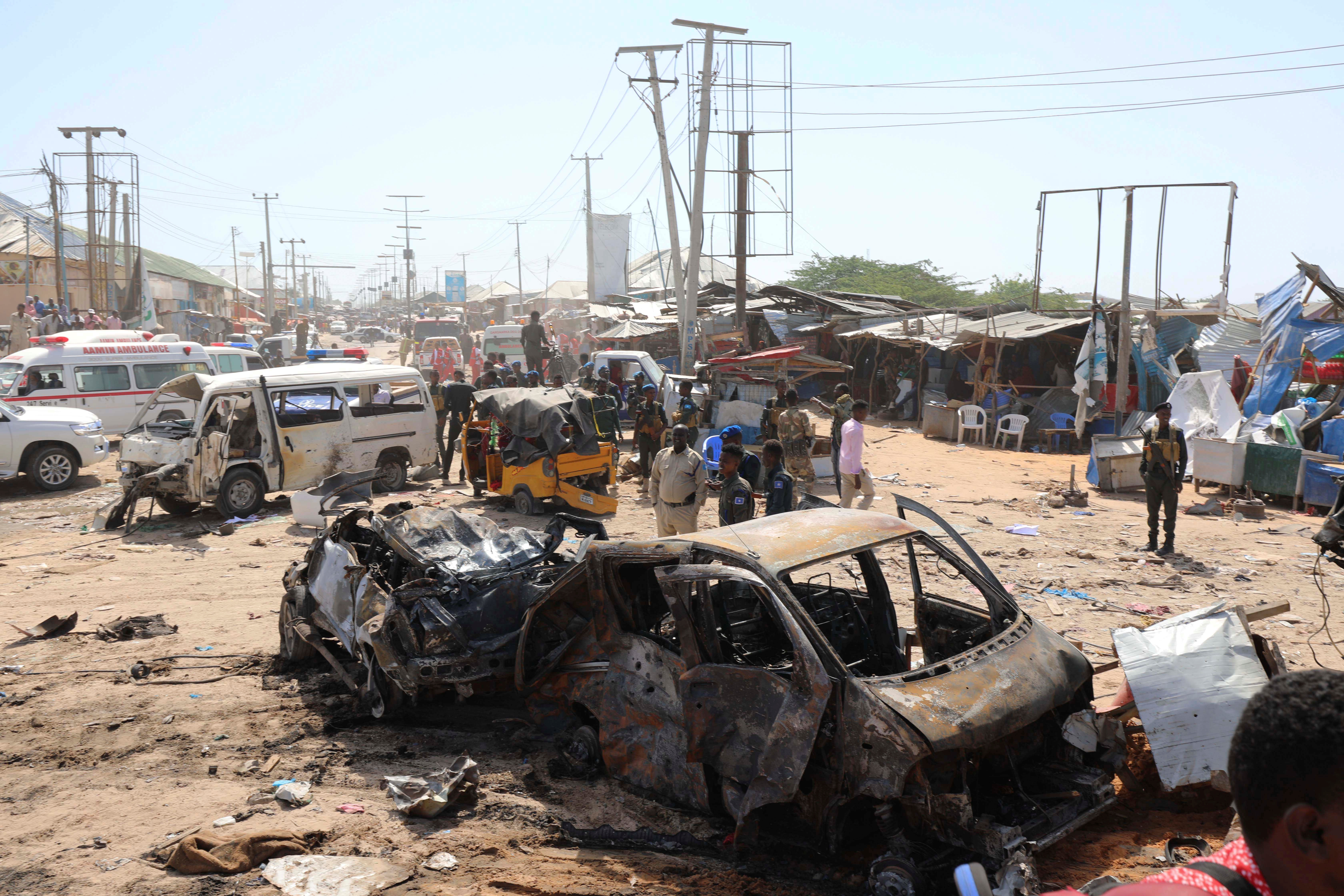 Somali Agency Accuses Unnamed Country of Being Behind Deadly Truck Bombing