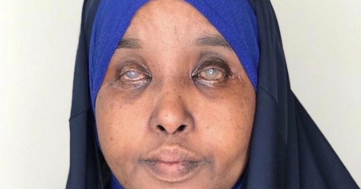Anab's husband Haile died from coronavirus at Hammersmith Hospital in west London