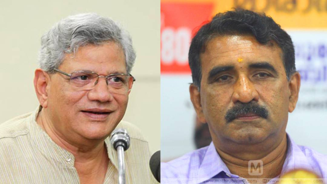 Yechury gives fitting reply to Gopalakrishnan for comment on ration denial to Kerala