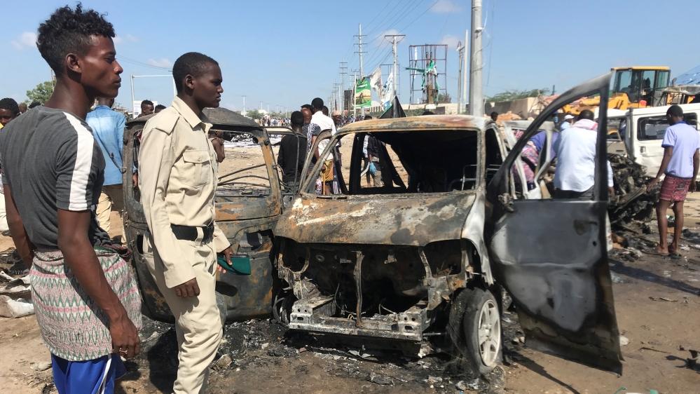 Dozens killed in Mogadishu car bomb attack: Police