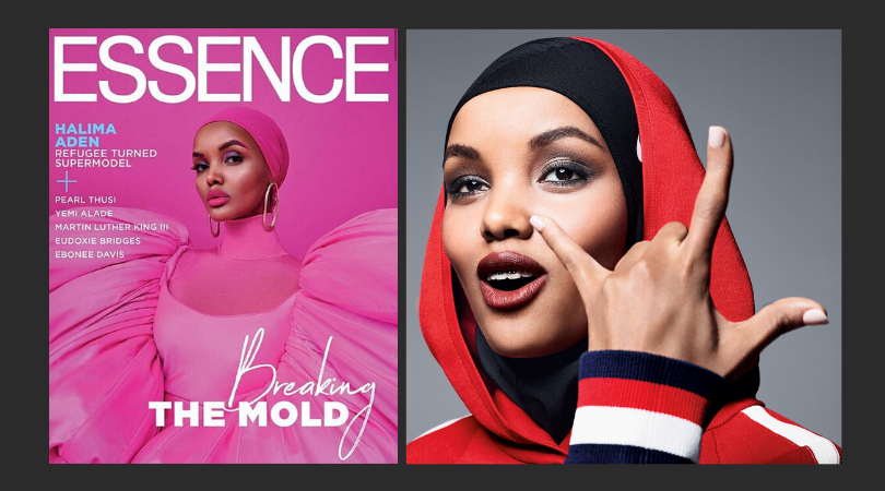 Halima Aden became the first black woman to grace the cover of Essence