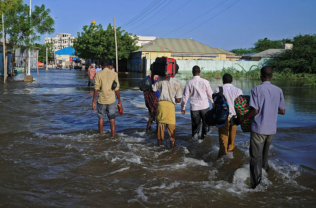 24 killed, more than 280,000 displaced by floods in Somalia
