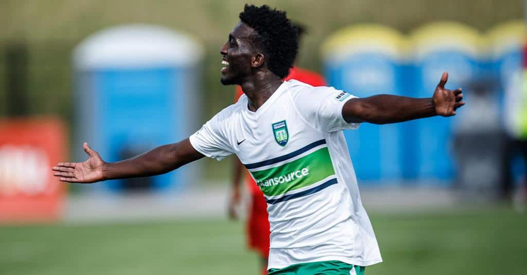 Greenville Triumph player Omar Mohamed named Somalia's International Player of the Year