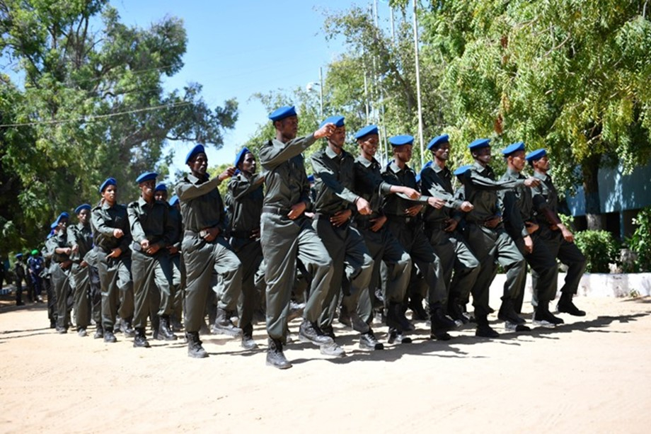 AMISOM completes induction course into mission for 22 police officers