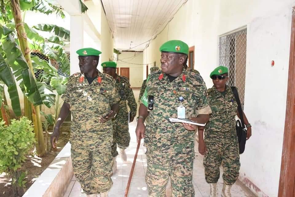 Brig Richard Otto, the newly appointed UPDF AMISOM commander in Lantabur, Somalia on Thursday (PHOTO/Courtesy).