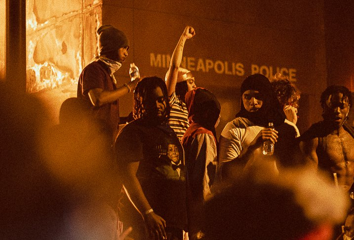 Black pain is ours: Minneapolis Somali community rallies over Floyd killing