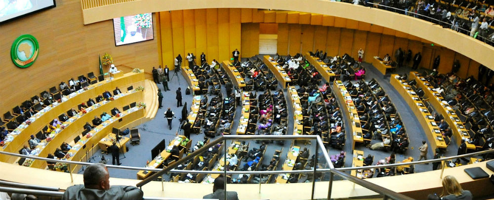 A summit at the African Union in Addis Ababa, Ethiopia. /African Union