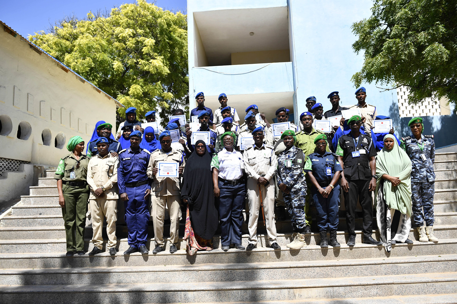 Somalia trains 385 more police officers to enhance security