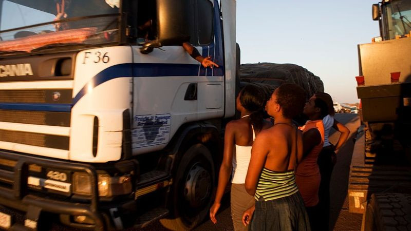 Lorry drivers are known to have multiple sex partners
