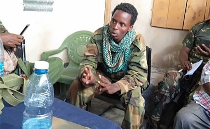 Al-Shabaab fighter surrenders
