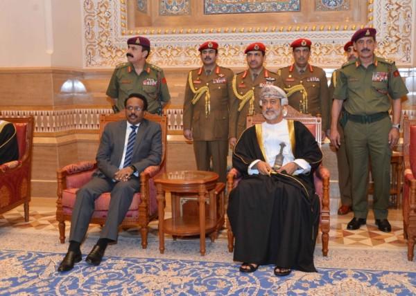 Somali President Arrives in Oman for Sultan Qaboos Funeral