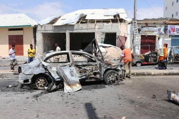 Three die in Somali capital car bomb