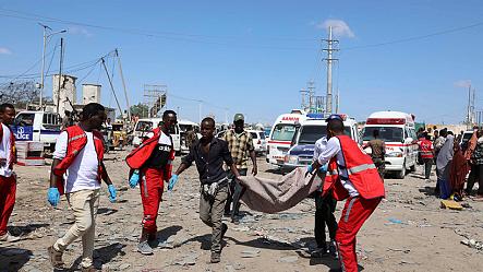 At least 76 killed in Somalia car bomb blast