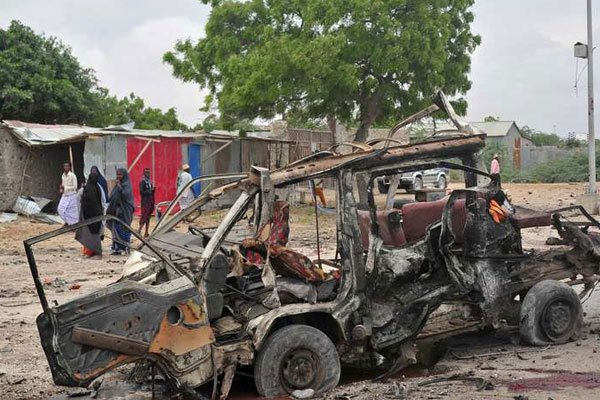Three die after attack on Mogadishu army camp