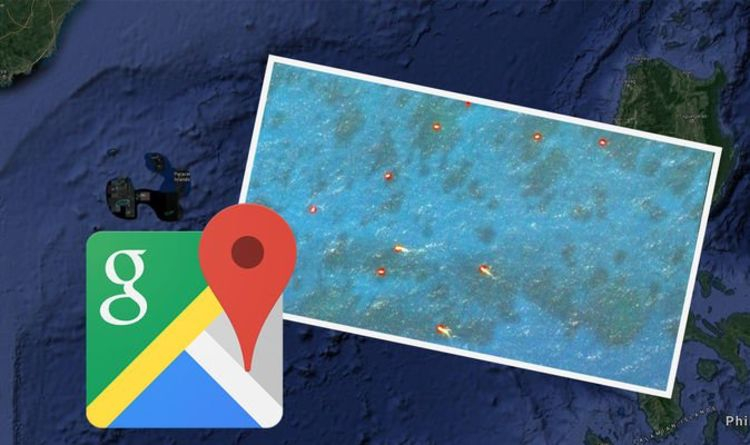Google Maps: Mysterious fireballs spotted in South China sea - what are they?