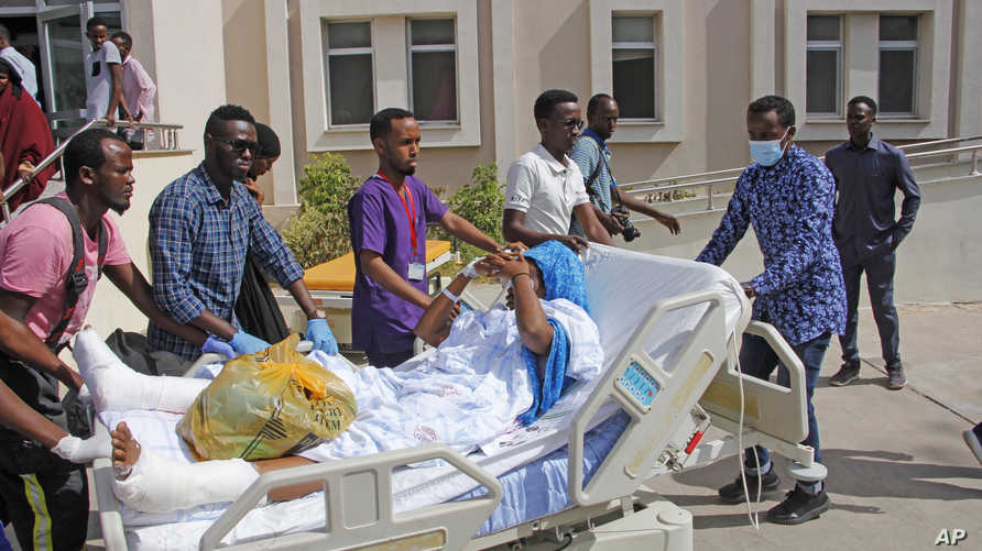 Victims of Somali truck bomb attack airlifted to Turkey - The Nation Newspaper