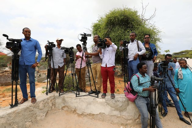 In Somalia, Attacks on Media Workers Rising