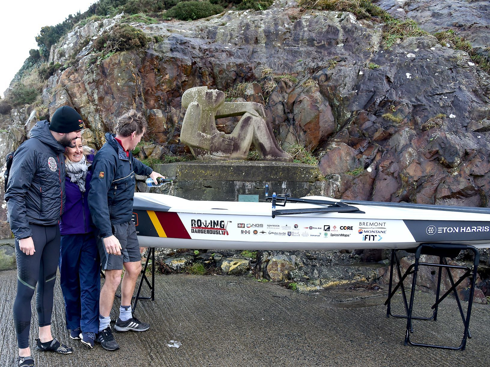 TV adventurer's boat donated to local club after auction win