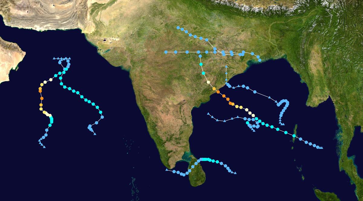 Cyclones In India in 2019: From Cyclone Pabuk to Pawan, Here Are 8 Cyclones That Wreaked Havoc This Year | 🇮🇳 LatestLY