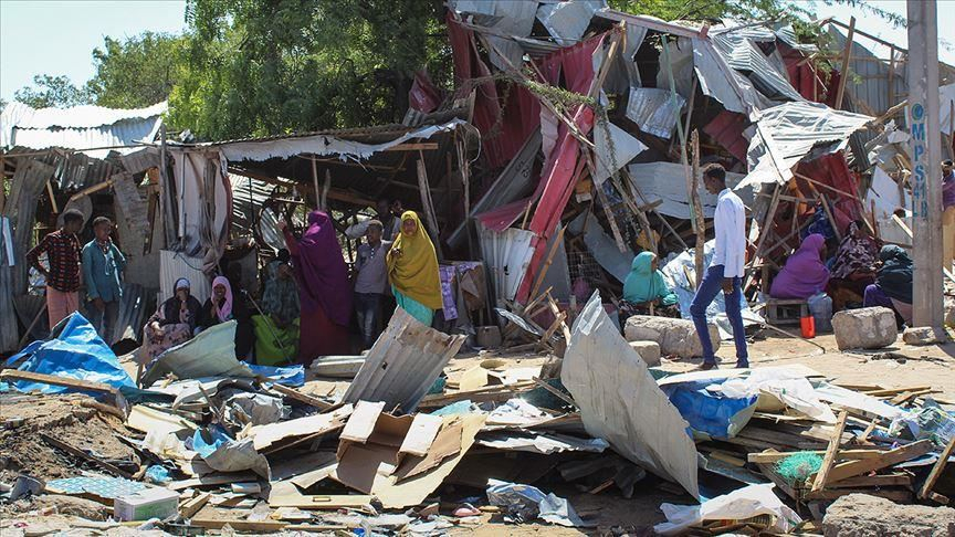 13 die at displaced persons camp in Mogadishu