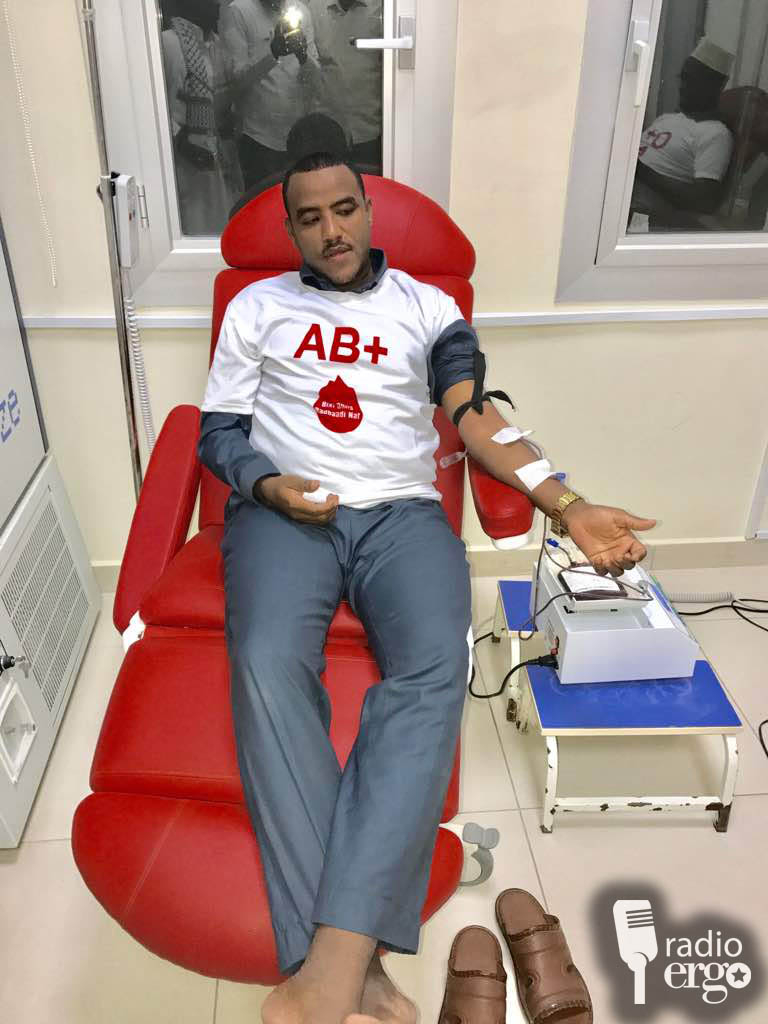 Somali youth organise blood donor system to save lives in Goldogob