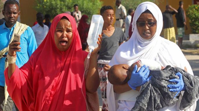 Rush-hour bomb kills 90 in Mogadishu