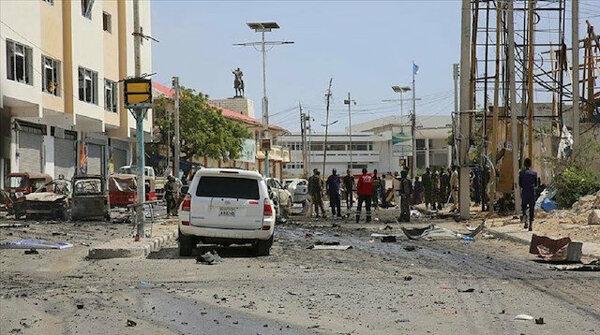 Bomb explosion in Somali troops, al-Shabaab clash
