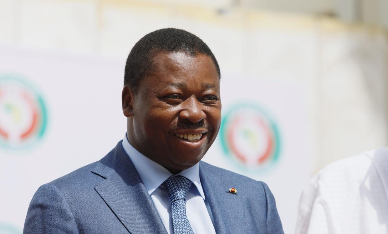 President of Togo Faure Gnassingbe